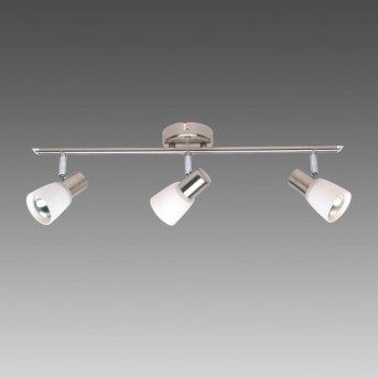 Brilliant Luca Lámpara de techo Blanca, 3 luces