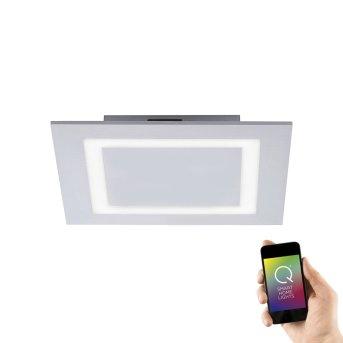 Paul Neuhaus Q-MIRAN Lámpara de Techo LED Aluminio, 1 luz, Mando a distancia, Cambia de color