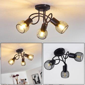 Cairns Lámpara de Techo Negro, 3 luces