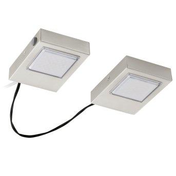 Eglo LAVAIO Lámpara de cocina LED Níquel-mate, 2 luces