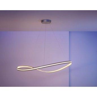 Escale Infinity Lámpara Colgante LED Níquel-mate, 1 luz