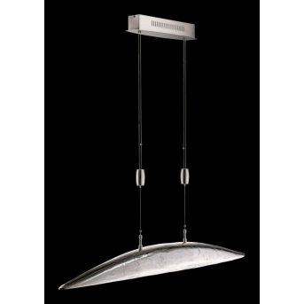 Fischer SHINE Lámpara colgante LED Níquel-mate, 6 luces