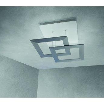 Escale ZEN D2W Lámpara de Techo LED Gris, 10 luces