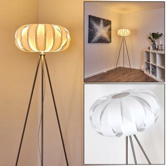 Zobus Lámpara de Pie Níquel-mate, 1 luz