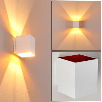Aplique Laforsen Blanca, dorado, 1 luz
