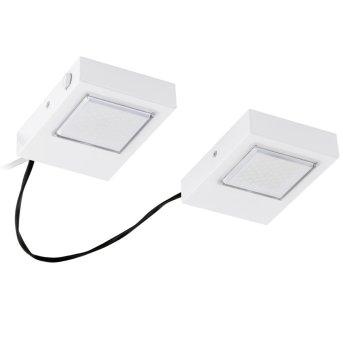 Eglo LAVAIO Lámpara de cocina LED Blanca, 2 luces