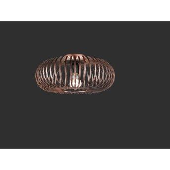 Trio-Leuchten Johann Lámpara de Techo Cobre, 1 luz