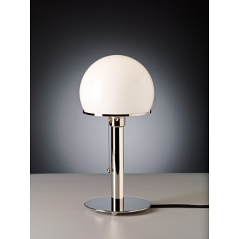 Tecnolumen Wagenfeld 24 Lámpara de mesa Níquel brillo, 1 luz