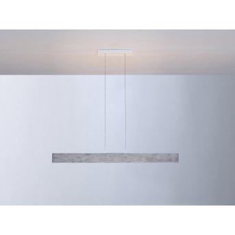 Escale VITRO Lámpara Colgante LED Gris, Aluminio, 1 luz