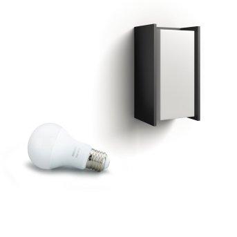 Philips Hue White Turaco Aplique Antracita, 1 luz