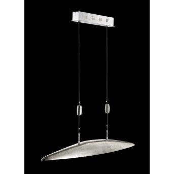 Fischer SHINE Lámpara colgante LED Níquel-mate, 5 luces