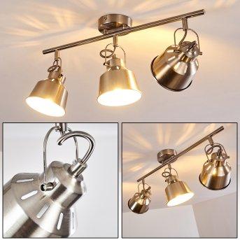 Lámpara de Techo Safari cromo bruñido, 3 luces