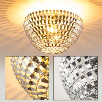 Hoting Lámpara de Techo Cromo, 2 luces