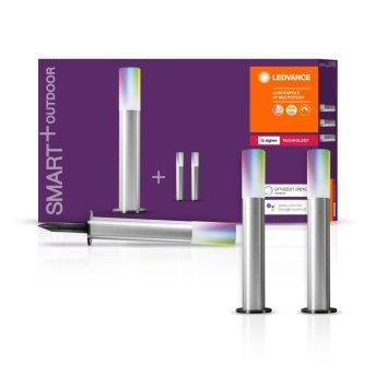LEDVANCE SMART+ Pedestal, set de extensión Gris, 3 luces