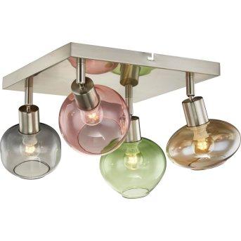 Nino Leuchten RENTO Lámpara de Techo Colorido, 4 luces