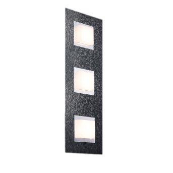 Grossmann BASIC Lámpara de Techo LED Antracita, 3 luces