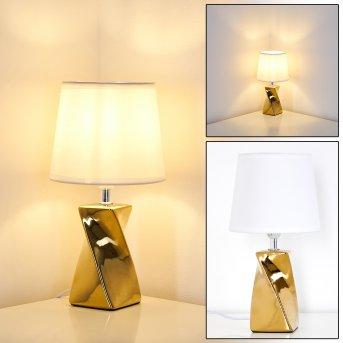 Shenzhen Lámpara de Mesa dorado, 1 luz
