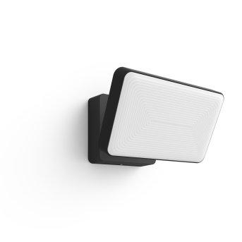 Philips Hue White Welcome Foco reflector LED Negro, 1 luz, Cambia de color