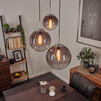 Lámpara Colgante Degevos Gris, 3 luces