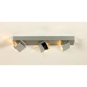 Bopp Elle Lámpara de techo LED Cromo, Aluminio, 3 luces