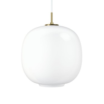 Louis Poulsen VL45 RADIOHUS Lámpara Colgante Blanca, 1 luz