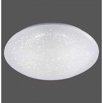 Leuchten-Direkt SKYLER Lámpara de techo LED Blanca, 1 luz