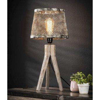 Schildwolde Lámpara de Mesa Color óxido, 1 luz
