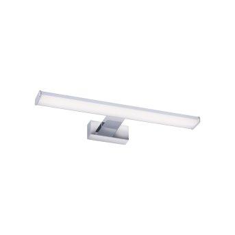 Lámpara de espejos Leuchten Direkt MATTIS LED Cromo, 1 luz