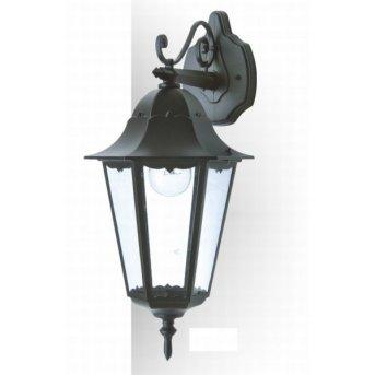Lutec BRISTOL Aplique para exterior Negro, 1 luz