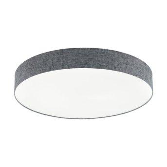 Eglo ROMAO Lámpara de Techo LED Blanca, 1 luz, Mando a distancia