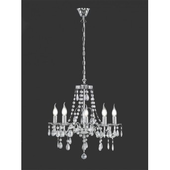 Reality BAROQUE Corona Cromo, 5 luces