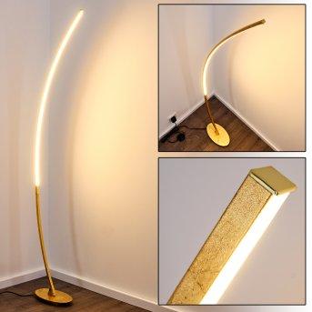 Nagu Lámpara de Pie LED dorado, 1 luz