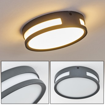 Chiavari Lámpara para exterior LED Antracita, 1 luz