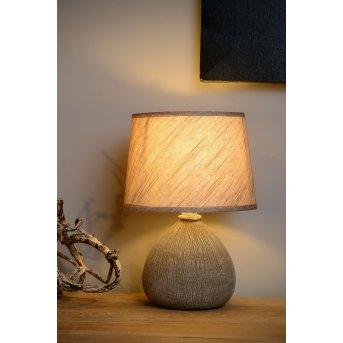 Lucide RAMZI Lámpara de escritorio Marrón, 1 luz