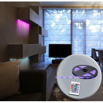 Globo LED BAND Tira LED, 150 luces, Cambia de color