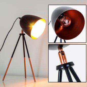 MONTREAL Lámpara de Mesa Negro, Cobre, 1 luz