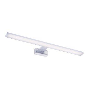 Leuchten Direkt MATTIS Lámpara de espejos LED Cromo, 1 luz
