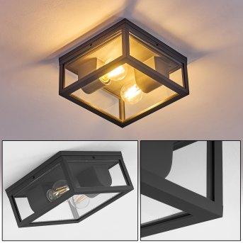 Kiwalik Lámpara de techo para exterior Antracita, 1 luz