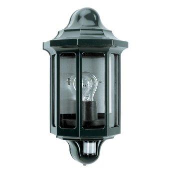 KS Verlichting Loreo Aplique Verde, 1 luz, Sensor de movimiento