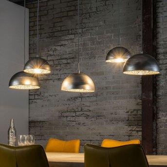 Lámpara Colgante Rietdorp Plata, 5 luces