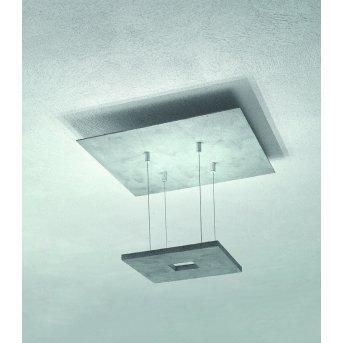 Escale ZEN D2W Lámpara de Techo LED Gris, 4 luces