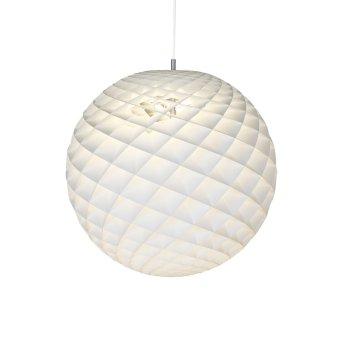 Louis Poulsen PATERA Lámpara Colgante Blanca, 1 luz