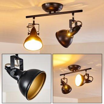 Lámpara de Techo Tina Negro, 2 luces