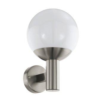 Eglo connect NISIA Aplique para exterior LED Acero inoxidable, 1 luz
