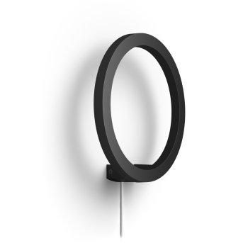 Philips Hue Ambiance White & Color Sana Aplique LED Negro, 1 luz, Cambia de color