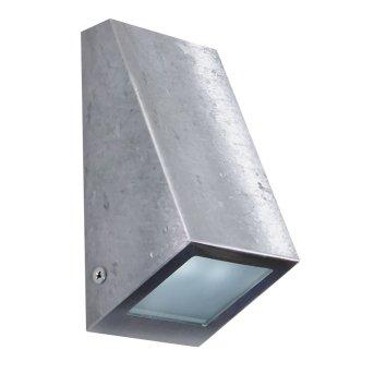 KS Verlichting Downlighter Aplique Acero inoxidable, 1 luz