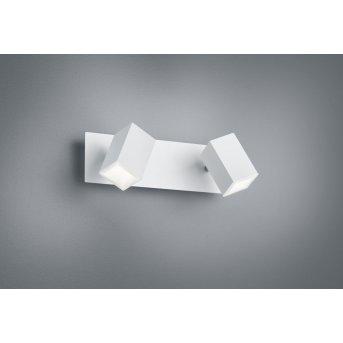 Trio LAGOS Aplique LED Blanca, 2 luces