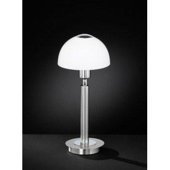 Wofi AMBER Lámpara de mesa Níquel-mate, 1 luz