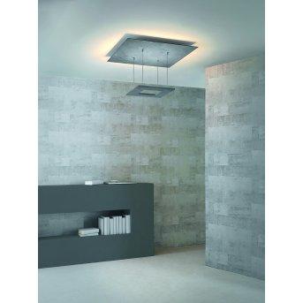 Escale ZEN D2W Lámpara de Techo LED Gris, 8 luces