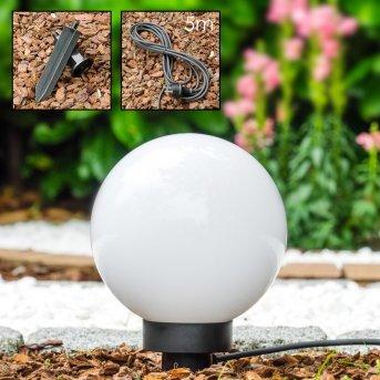 Miau Lámpara esféricas Blanca, 1 luz
